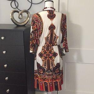 Cristinalove Dresses - Red White Dress Sz Sz 2X